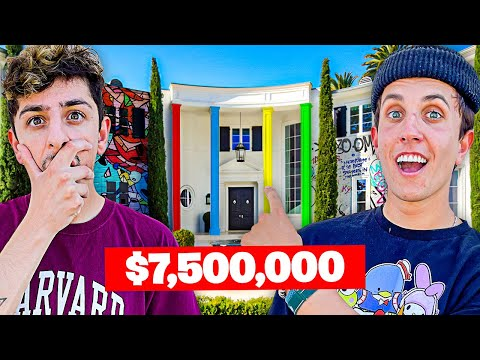 Visiting YouTuber Houses!