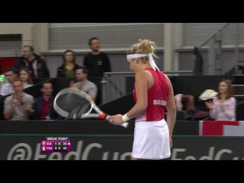 Shot of the day: Timea Bacsinszky (SUI)