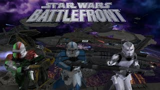 🔴[LIVE] Classic Star Wars: Battlefront II Clone Wars (2005) PC - Clone Wars Galactic Conquest