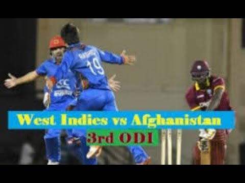 Afghanistan VS West Indies Final ODI 14/06/2017 full HD match Live Streaming