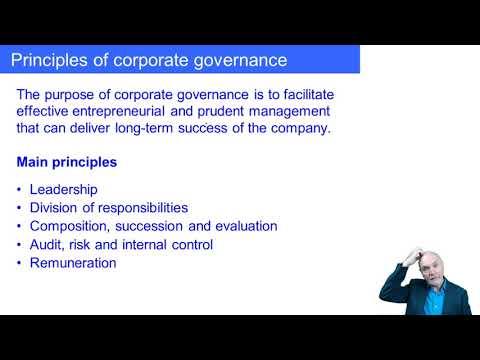 Corporate Governance And Ethical Considerations - ACCA Accountant In Business (AB)