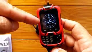 Kenxinda W10 Qwerty Keyboard Slider Smart Watch Phone: Review