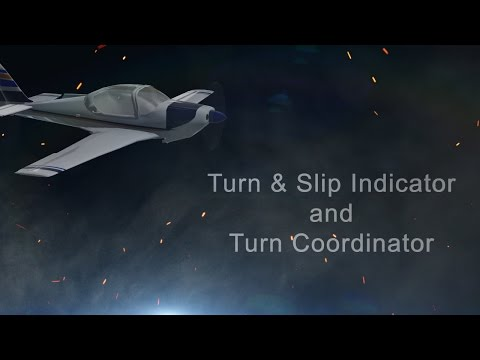 Turn & Slip Indicator and Turn Coordinator