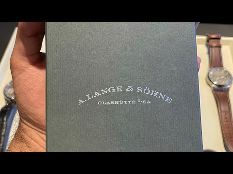 Searching For My Grail Watch (Part IV): Picking Up My A.Lange & Sohne - Lange 1 Rose Gold (191.032)