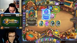 Fenomeno vs Kolento - Hearthstone Grandmasters Europe - Week 2 Day 1