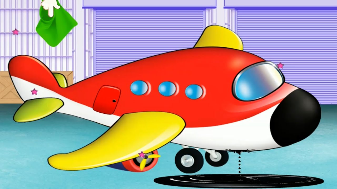 airplane cartoon for kids airplane repair airplanes for kids