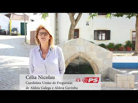 Célia Nicolau | Candidata à União de Freguesias de Aldeia Galega e Aldeia Gavinha