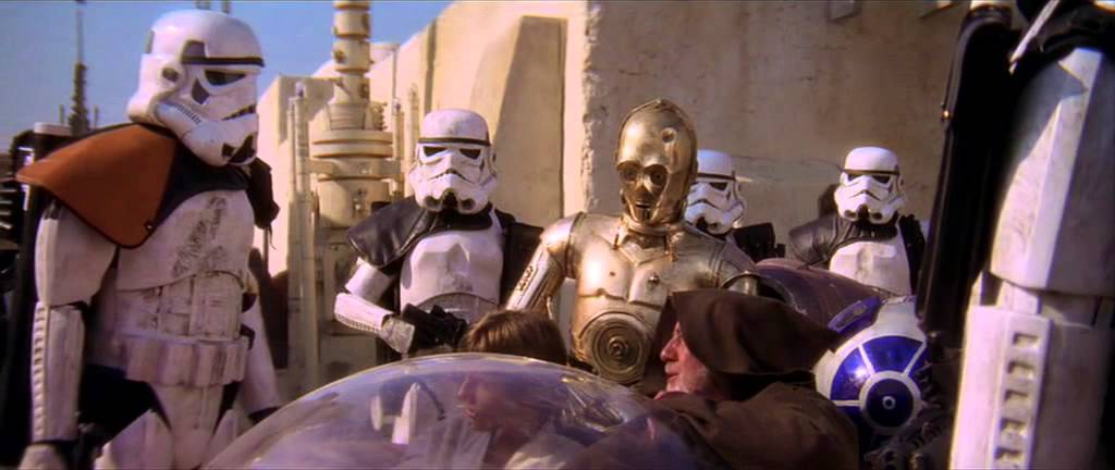 These Arent The Droids Youre Looking For Youtube