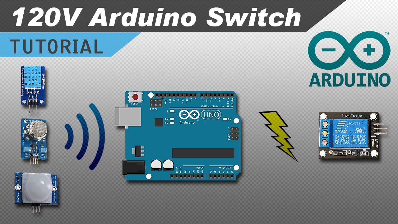 Using Sensors With 5v Relays On The Arduino Youtube Temperature Detector Controller Circuit Electronic Projects