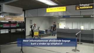 Lever uw afwijkende bagage af bij odd-size baggage