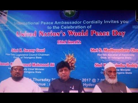 United Nation's World Peace Day Celebration | @ SACH NEWS |