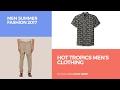 Hot Tropics Men's Clothing Men Summer Fashion 2017