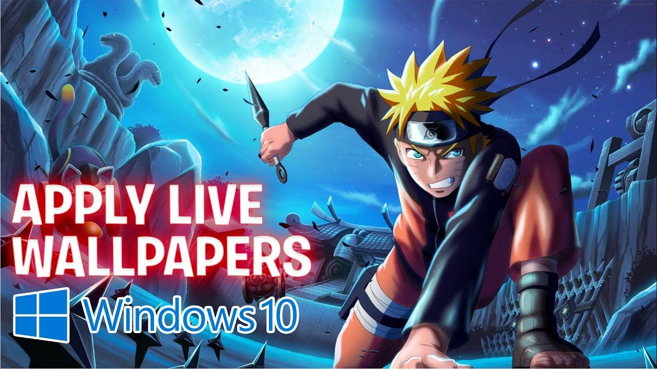 APPLY LIVE WALLPAPERS IN WINDOWS 10 | Rounak Choudhary | Hindi