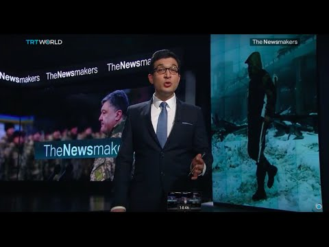 The Newsmakers: The Iowa Caucus and Ukraine Crisis