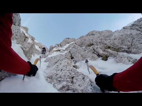 Slovenska smer v Triglavu - Triglav (2864 m) North Face with Swing Spitfire 2