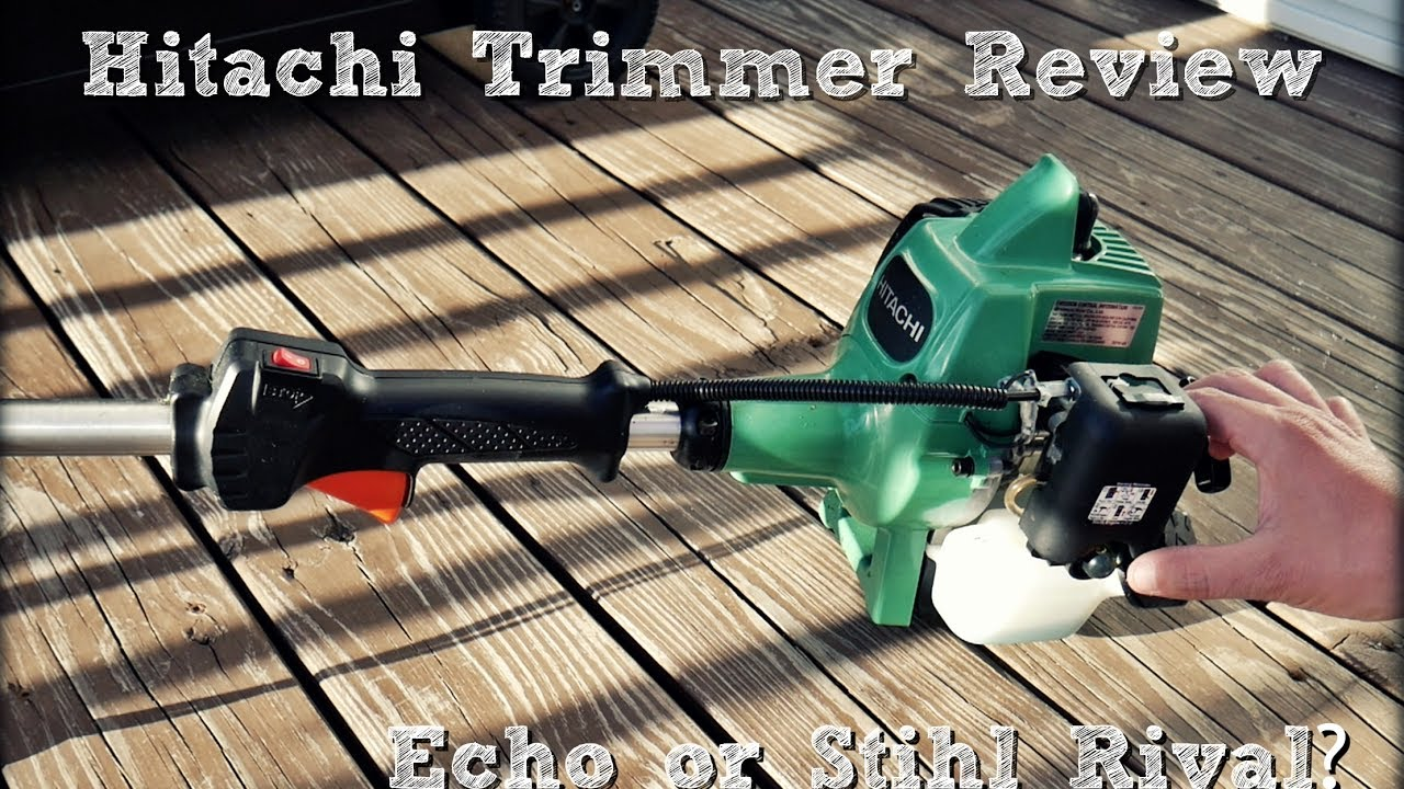 Hitachi Cg22eap2slb String Trimmer Review Same As Tanaka Echo Or