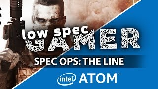 Spec Ops the line... on an Intel Atom Handheld (GPD Win). Increasing fps with ultra low graphics.