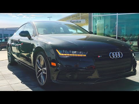 2016 Audi S7 4.0T Quattro S Tronic Full Review, Start Up, Exhaust