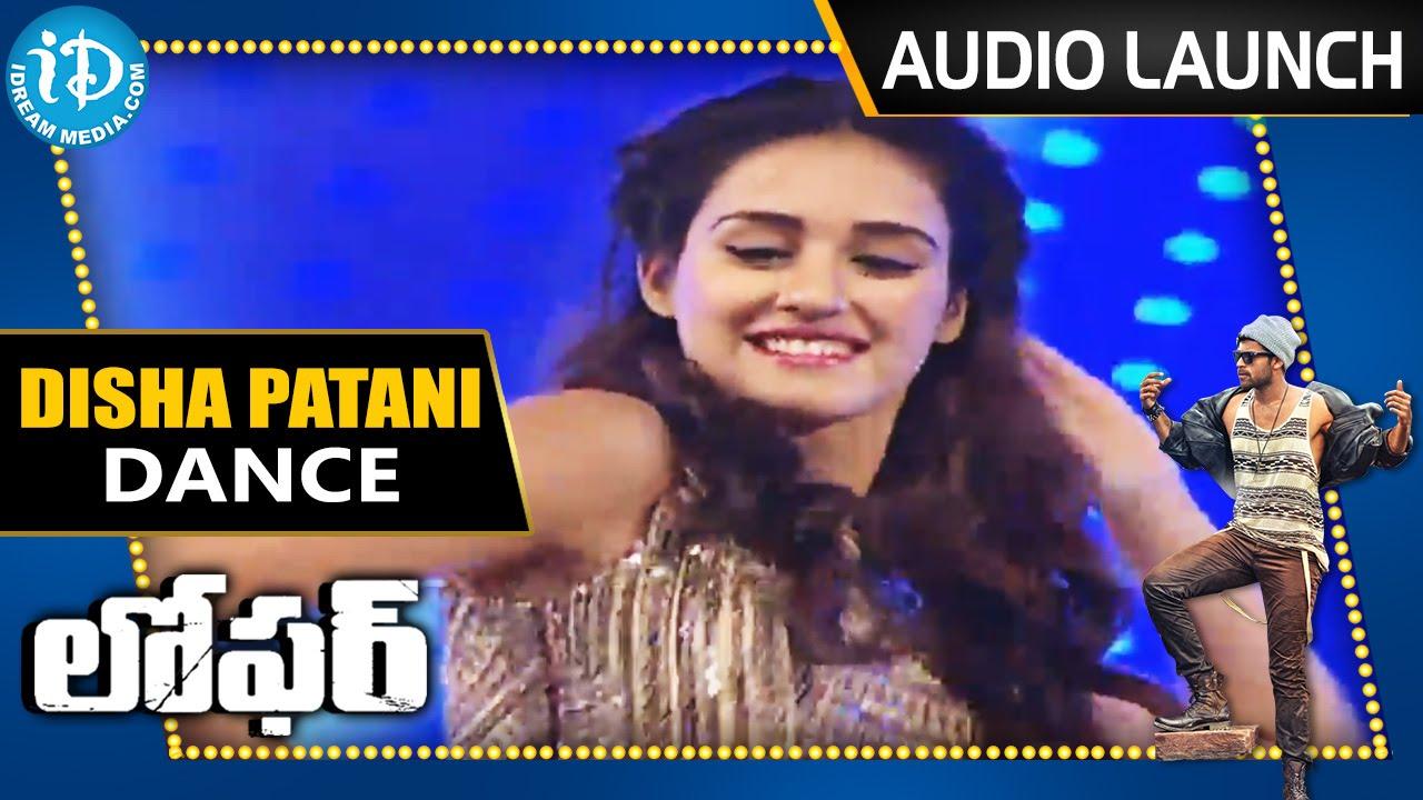 Actress Disha Patani Dance Performance Loafer Movie Audio Launch