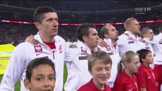 Anglia - Polska: hymn Polski