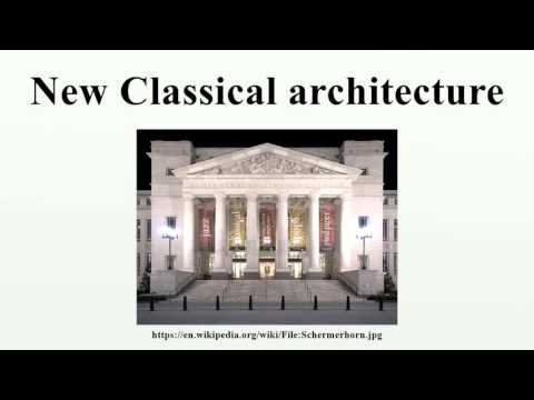 New Classical architecture