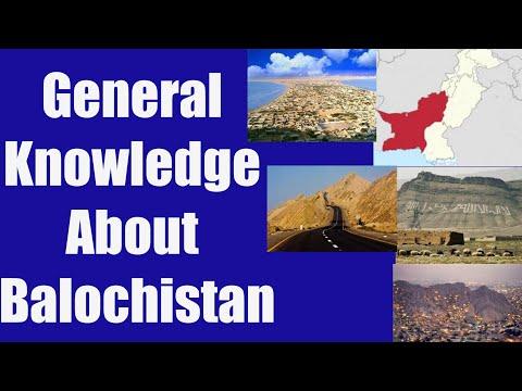 General Knowledge About Balochistan