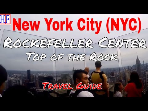New York City (NYC) | Rockefeller Center - Top of the Rock | Tourist Attractions | Episode# 16