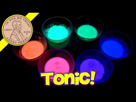 Make Glowing Slime - Will It Slime? Tonic Water & Lemon Juice
