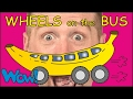 Wheels on the Bus | Fruit Magic + MORE English Stories for Kids | Steve and Maggie | Wow English TV