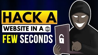 Hack a Website in Few Seconds