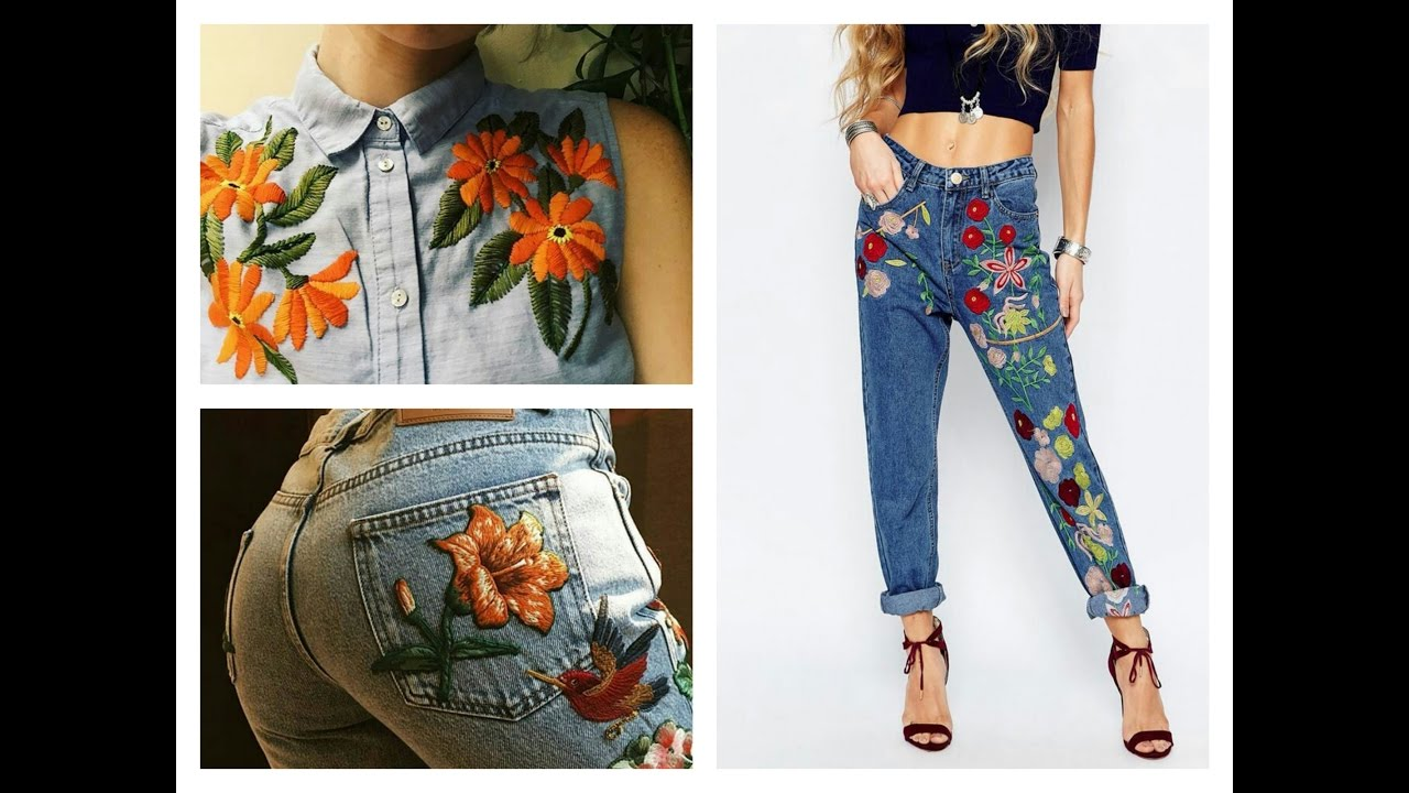 Fashion trends embroidered looks youtube