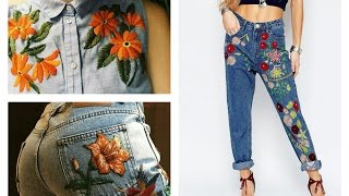 Fashion Trends - Embroidered Fashion Looks