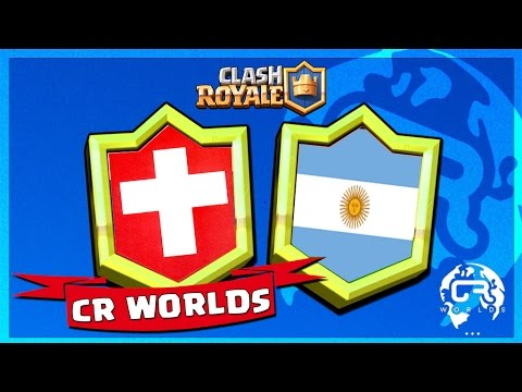 COUPE DU MONDE CLASH ROYALE : SUISSE VS ARGENTINE !!