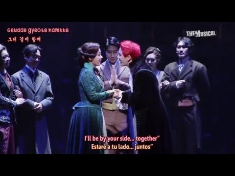 160126 Musical Dracula - Junsu - She (Sub Español + Eng + Romaji)