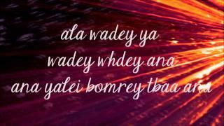 Nancy Ajram- Ana Yalli Bahebak with lyrics