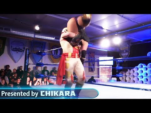 [Free Match] Solo Darling Vs. Ophidian | CHIKARA #JKI 2018 (Beyond Wrestling, Intergender, Mixed)