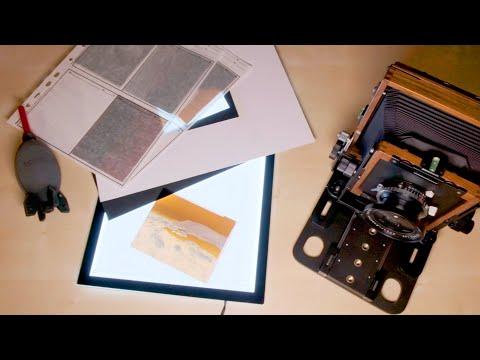 How I Digitise Large Format Negatives (Negative Lab Pro)