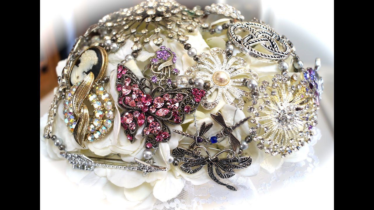 Making Brooch Bouquets - YouTube