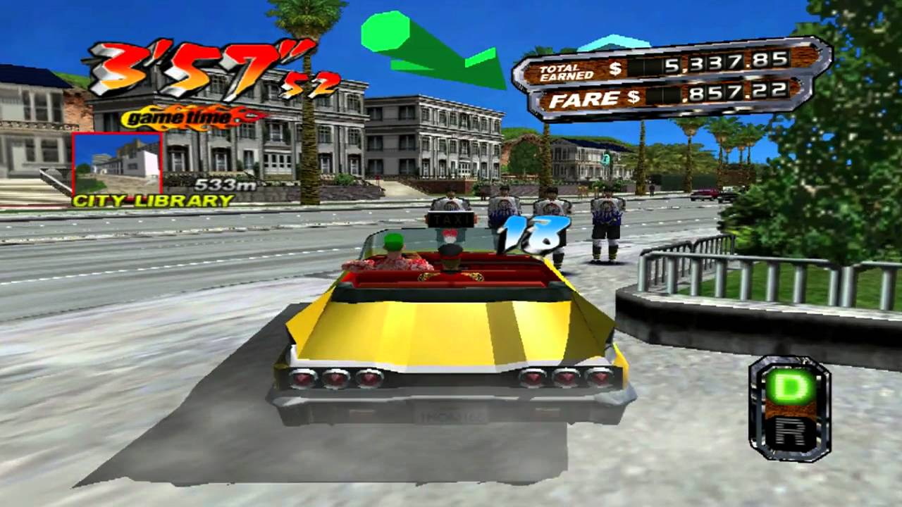 Crazy Taxi Overview