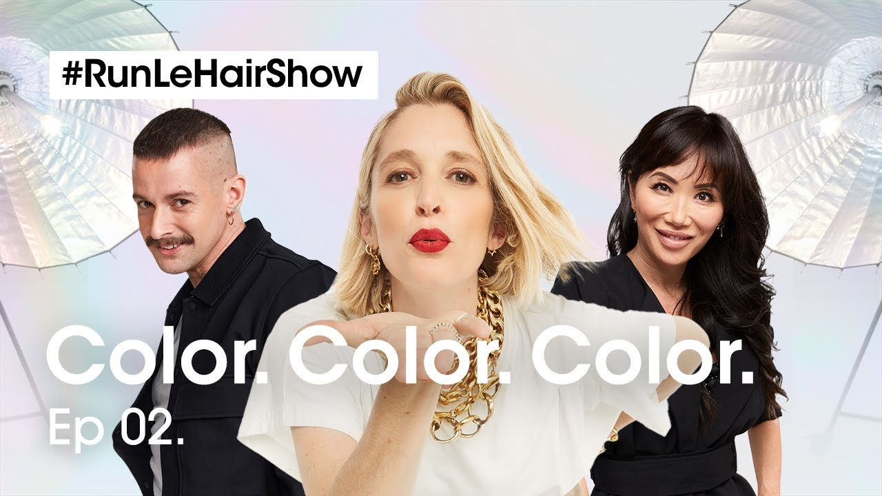 Download Haircolor, pro tips & a masterclass in French Glossing | Episode 2 | RUN LE HAIR SHOW