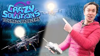 Designing a FlightBulb (Flying Light Bulb)! | CRAZY SOLUTIONS TO SMALL PROBLEMS
