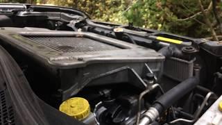Nissan X Trail 2.2 DCI YD22 turbo diesel engine start up + rev sound