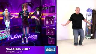 "Dance Central 3 ""Calabria 2008"" (Hard) 100% Gold Gameplay"