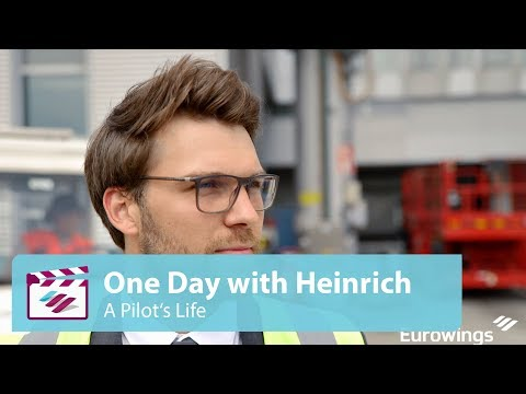 A day in a pilot's life // Eurowings