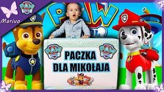 Mikołaj zamówił WIEEEELKĄ PACZKĘ??!!  Psi Patrol Ultimate Rescue  Opening po polsku zabawkami