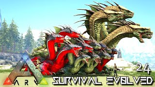 ARK: SURVIVAL EVOLVED - THE HYDRA ARMY BEGINS !!! VALGUERO ARCHAIC ASCENSION PYRIA E24