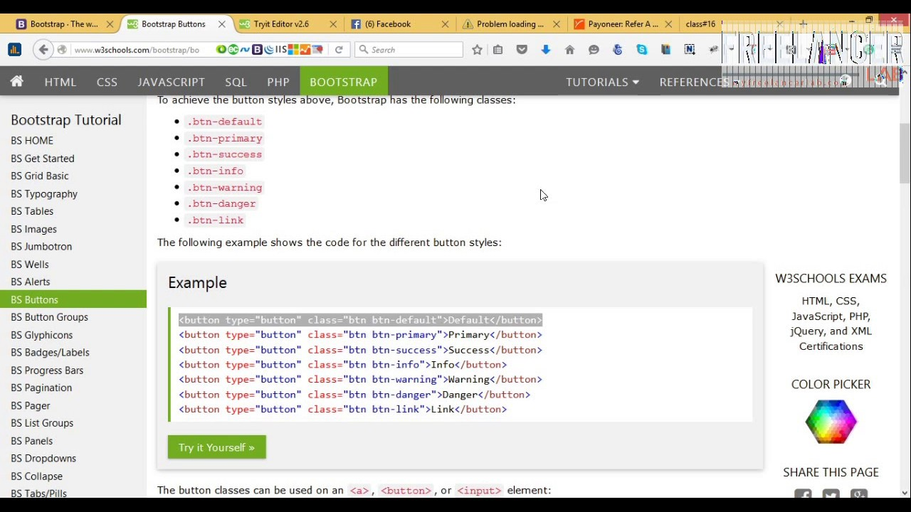 psd to html convert ! how to bootstrap tutorial for bagginer ! bootstrap3  tutorial!twitter bootstrap