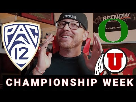 OREGON VS UTAH | PAC 12 CHAMPIONSHIP | PREVIEW AND PREDICTION