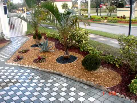 Dise o de jardines en miami 2 youtube for Diseno de jardin