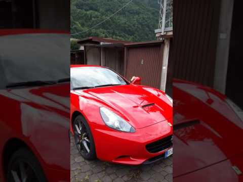 FERRARI CALIFORNIA F1 TURBO START UP AND SOUND V8